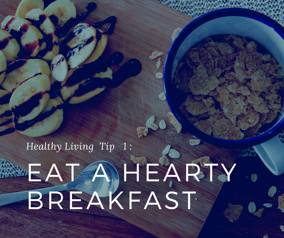 The importance of eating breakfast for a healthy diet and weight loss