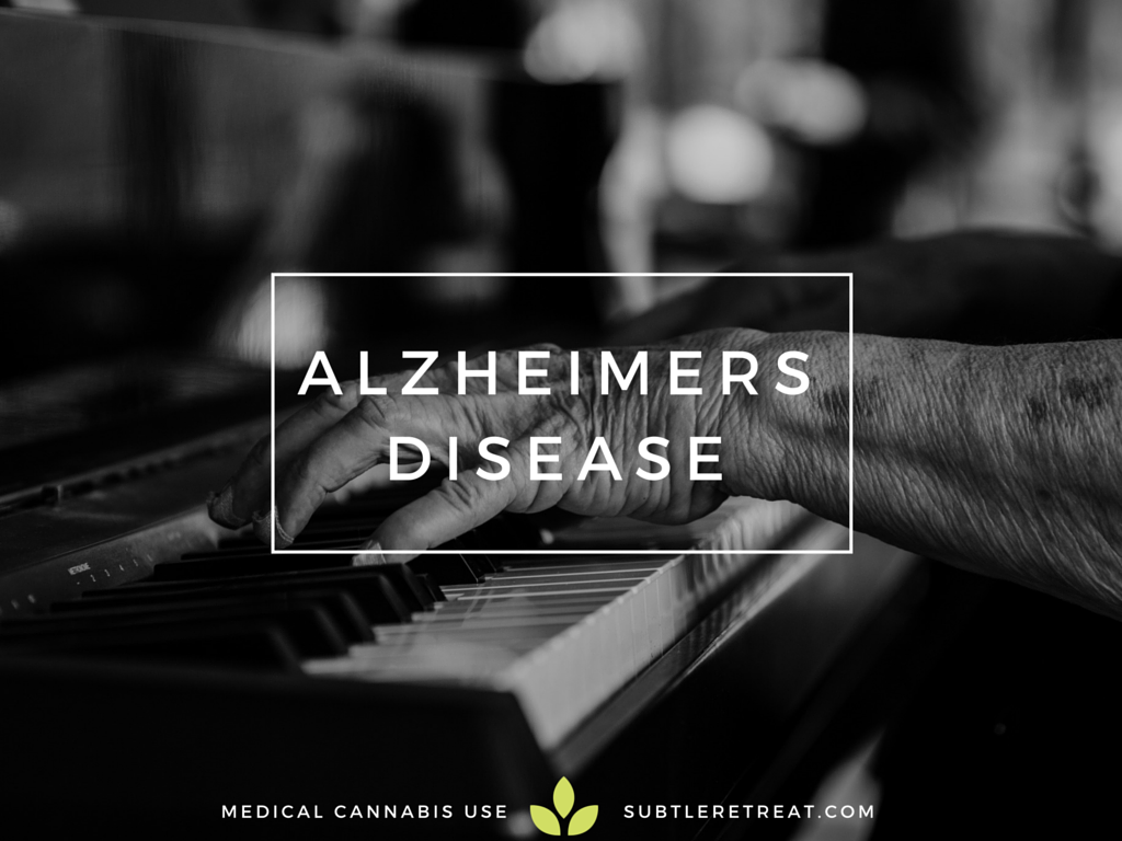 cbd and thc as a treatment for alzheimer's disease