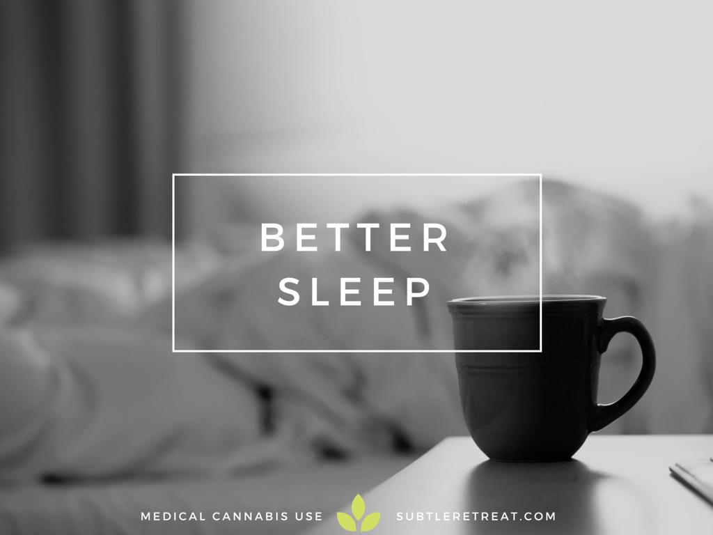 medical marijuana for insomnia